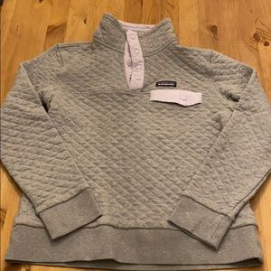 Patagonia quilted snap-T sweater